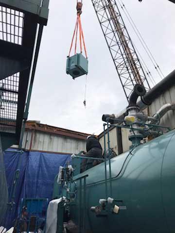 crane-boiler-installation